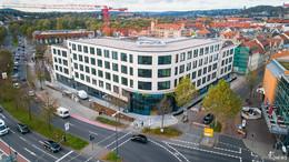 400 Mitarbeiter ziehen mit 5.000 Umzugskartons in neue Rhön Energie-Zentrale
