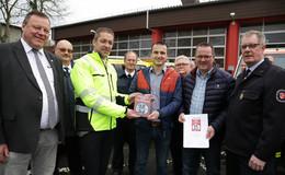Partnerschaftliche Zusammenarbeit mit Feuerwehr: Auszeichnung verdient