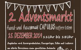 2. Adventsmarkt in der Capulus Kaffeerösterei