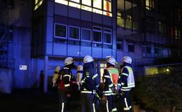 Matratze in der Psychiatrieabteilung im Klinikum in Brand geraten