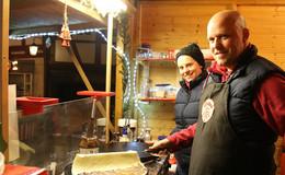 Seit 20 Jahren auf dem Weihnachtsmarkt: Philipp Jungblut und seine Crêpes