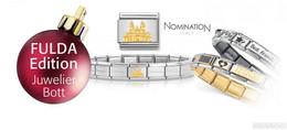 Weihnachtsgeschenk zum Stadtjubiläum: Fulda-Münze und Armband mit Dom