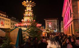 Besinnlich und gemütlich ist es auf dem Fuldaer Weihnachtsmarkt