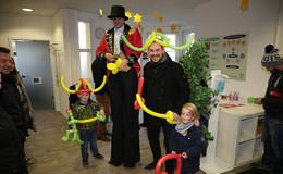 Barrierefrei im Stadthaus - Eröffnungsfeier mit Top Acts und vielen Besuchern