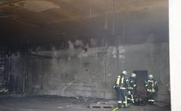 Schwelbrand bei der Firma Vario Treppen - Ursache unklar