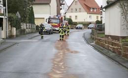Ölspur auf Gemeindestraßen und B 27 beseitigt: Wer ist der Verursacher?