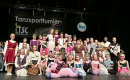 TSG Künzell landet mit allen Tänzen auf dem Treppchen