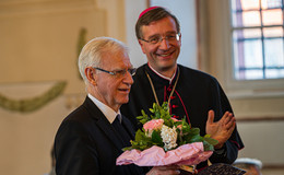 Abschied von Prof. Gerhard Stanke - Prälat Christof Steinert neuer Generalvikar