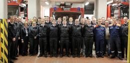 Sieben neue Kameraden für die Feuerwehr: positives Jahr 2019