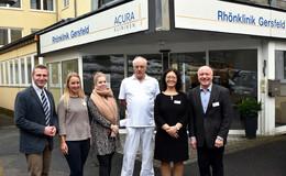 Fachabteilung der Acura-Klinik und Chefarzt Dr. Bernhard Schwarz vorgestellt