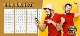 Eurojackpot: Drei Felder zum Preis von einem für nur 2,60 Euro