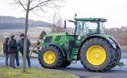 Wir wollen eine ehrliche Agrarpolitik - Landwirte fahren zur Groß-Demo