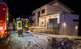 Brand im Heizungsraum kurz vor Mitternacht: Keine Verletzten