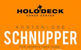 Kostenlose Schnupperwoche im Holodeck Dance Center
