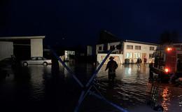 Hochwasser-Situation im Landkreis unter Kontrolle
