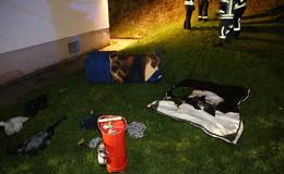 Sofa löst Feuerwehreinsatz Am Lax aus - Bisher ungeklärte Ursache
