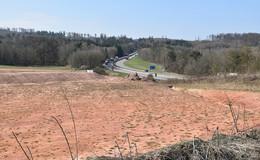 Hönebacher Autohof nimmt Konturen an - 50 Lkw-Parkplätze sollen entstehen
