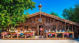 Q-Alm in Künzell ab 12 Uhr geöffnet: Pilgerstoff und Grillhähnchen