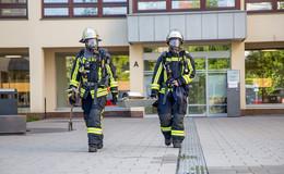 Feuerwehreinsatz im Landratsamt: Toaster in Brand geraten