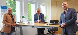 Personalwechsel im Rathaus: Sebastian Kircher folgt auf Reimund Krieger