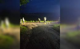 Elf Feuerwehreinsätze nach Starkregen - Wasser und viel Schlamm