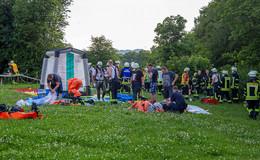 Chlorgas in Fliedener Schwimmbad ausgetreten - Keine Verletzten