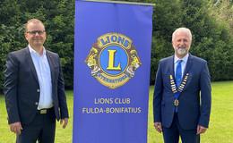 Präsidentenwechsel beim Lions Club Fulda-Bonifatius