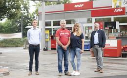 Avia-Tankstelle am Andreasberg mit neuen Gesichtern: Chefwechsel und Umbau