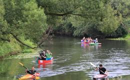 Entenperspektive und wunderbare Natur: Kanu-Tour auf der Fulda ist vielseitig