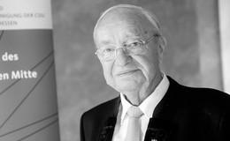 Er war Mr. Mittelstand: Ex-Landtagsabgeordneter Winfried Rippert verstorben
