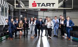 Sparkasse Fulda: Check-in für 15 junge Leute