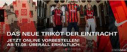 Das neue Trikot von Eintracht Frankfurt jetzt vorbestellen!