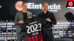 Eintracht Frankfurt verlängert mit Trainer Adi Hütter bis 2023