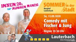 Gewinnen Sie 1x2 Freikarten für Comedy mit Fischer & Jung