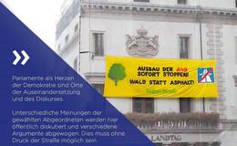 Präsident des Landtags Boris Rhein: Druck der Straße ist inakzeptabel