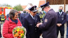 Manfred Köhler zum Ehren-GemeindebrandinspektorNentershausenernannt