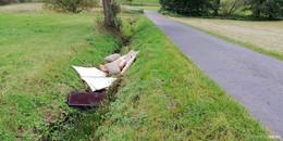 Wilde Müllablagerungen: Bürgermeister Dietmar Krist ist sauer
