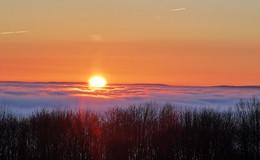 Sonnenaufgang am Eisenberg -  Fotos von Frühaufsteher BM Walter Glänzer