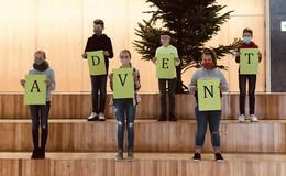 Schönes Projekt des Religionskurses: Adventskalender der Wigbertschule