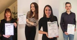 Hochschule: Vier Absolvent:innen mit Nachwuchspreis für ausgezeichnet