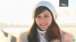 Gestrandet am Bahnhof: Russin sucht ihre Rettung in Not namens Ira