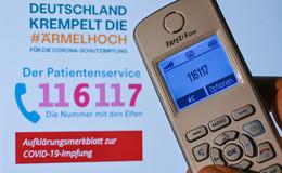 Impftermin per 116117: Telefon-Service in NRW gestartet - hohe Auslastung
