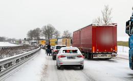 Feierabendverkehr sorgt für neue Verkehrsbehinderungen