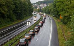 Corona sorgt für 43 Prozent weniger Staus auf Hessens Straßen