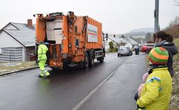 Ab Montag wieder regulär Müllabfuhr - sofern Zufahrt möglich