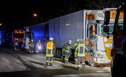 Feuerwehraufgebot im Industriegebiet West: Passanten melden Gasgeruch