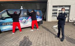 Nach der unverschuldeten Telefonpanne: Polizei zu Besuch im Autohaus
