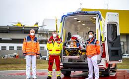 Der neue Baby-Krankentransportwagen des DRK Fulda