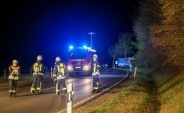 Spätabendlicher Einsatz für die Feuerwehr stellt sich als harmlos heraus