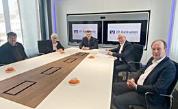 VR-Bankverein unterstützt innovative Geschäftsideen: Gründerwerkstatt kommt